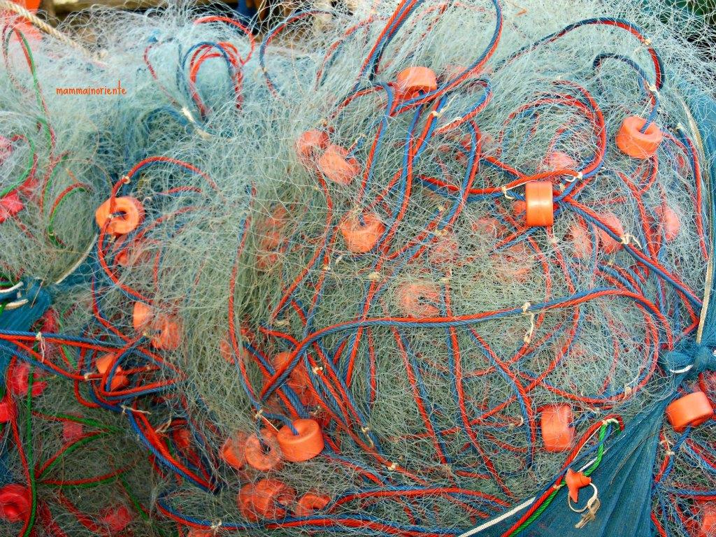 Tramonto alla spiaggia dei pescatori in rayong mamma in - Rete da pesca per decorazioni ...