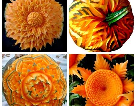 Corso di cucina Thai: la presentazione dei piatti e l'intaglio di frutta e verdura