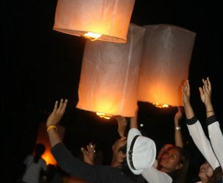 Il nostro primo Loi Krathong o Festival delle Luci