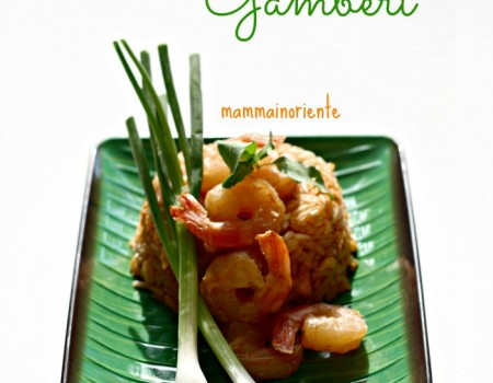Riso saltato con gamberi e i segreti per un buon Thai fried rice