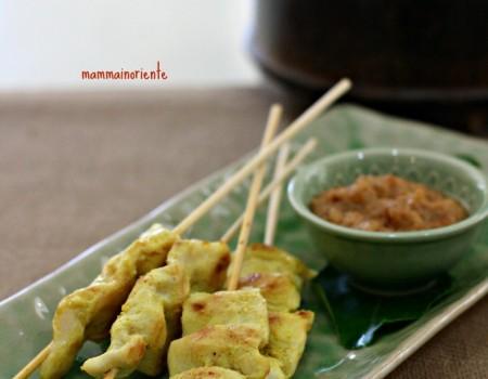Chicken Satay e la Red Curry Paste