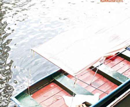 Un incontro a Kwam Rian, mercato galleggiante nella Bangkok non turistica