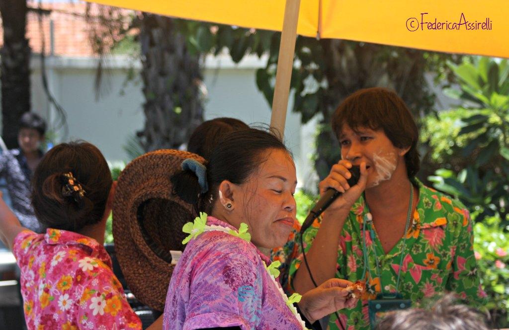 Canzoni e balli al Songkran