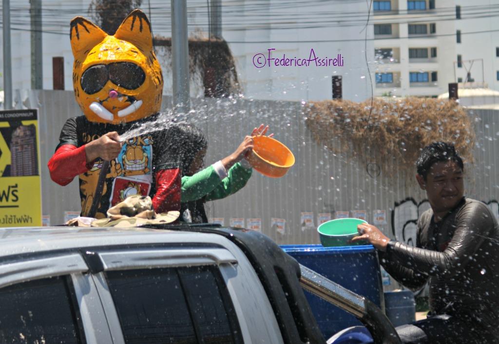 Maschere al Songkran