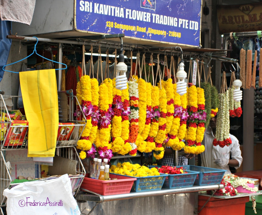 Ghirlande di fiori per induismo