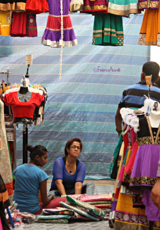 Mercato a Little India di Singapore