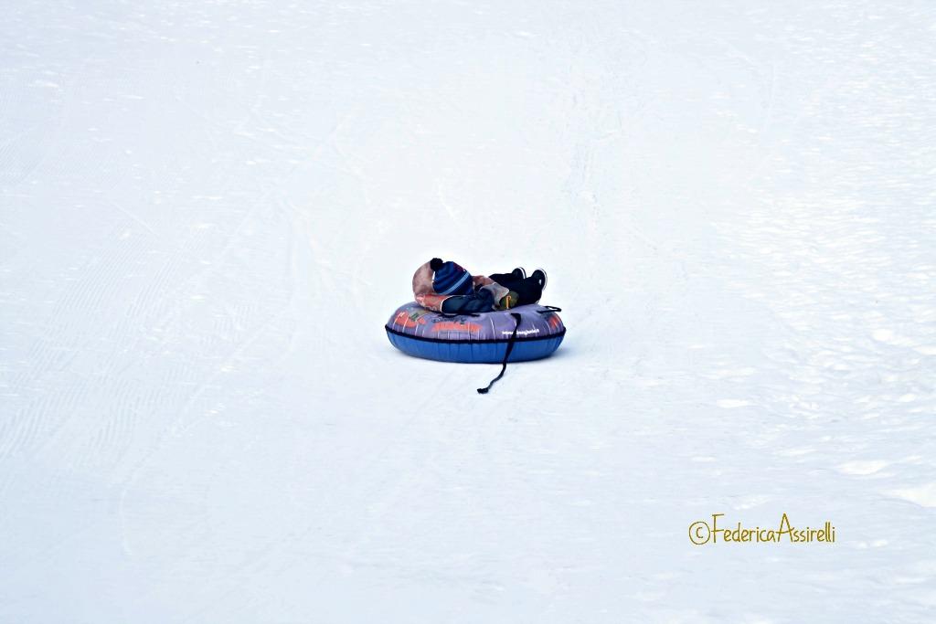 Ciambella sulla neve