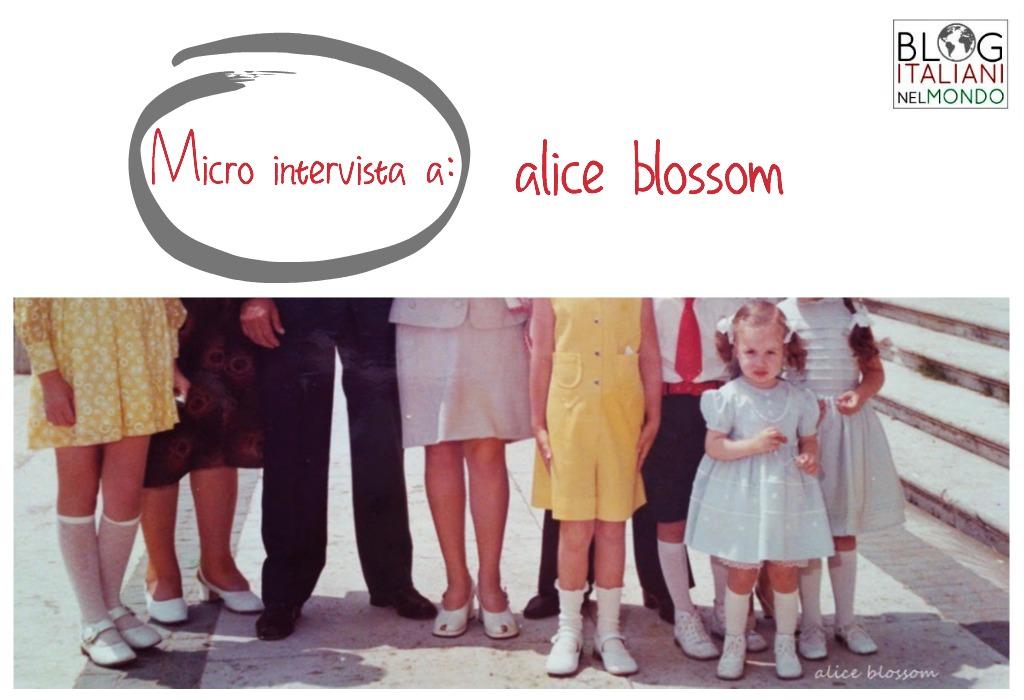 Micro intervista a alice blossom