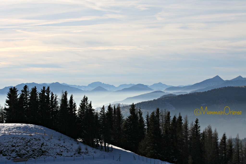 Vista dal Nationalparkbahn Brunnach