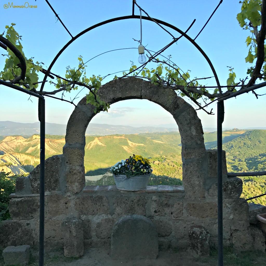 Giardino aperto a Civita di Bagnoregio