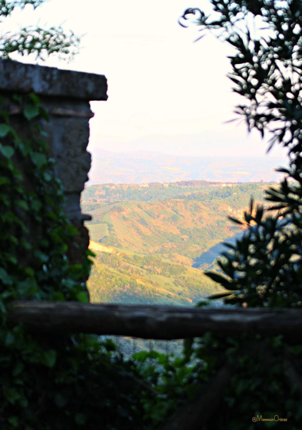 Scorci di panorama da Civita di Bagnoregio