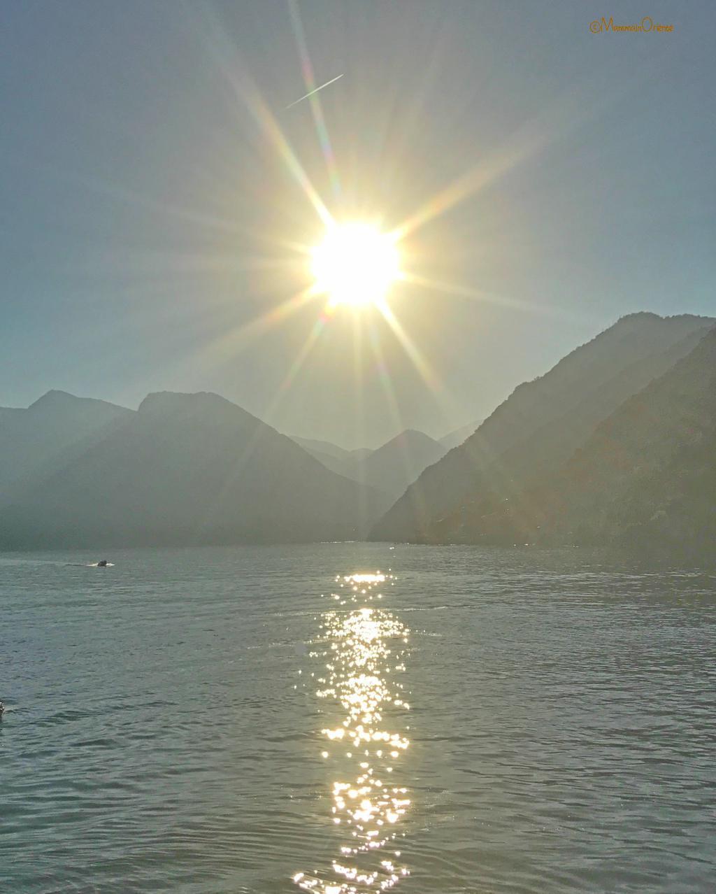 Effetti della luce al Lago di Como