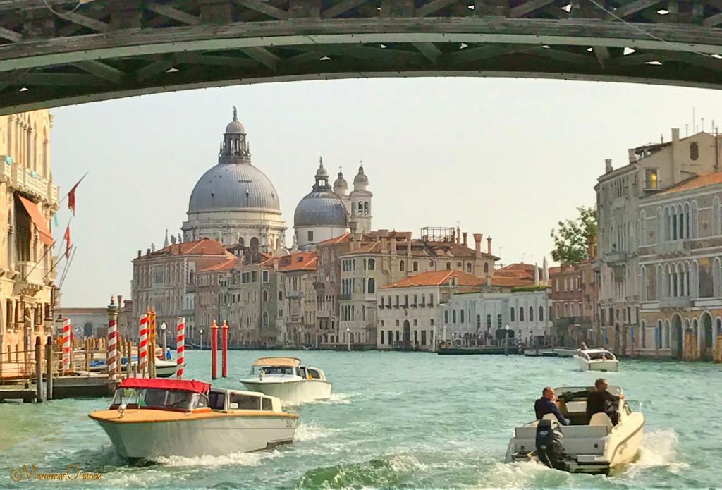In vaporetto a Venezia