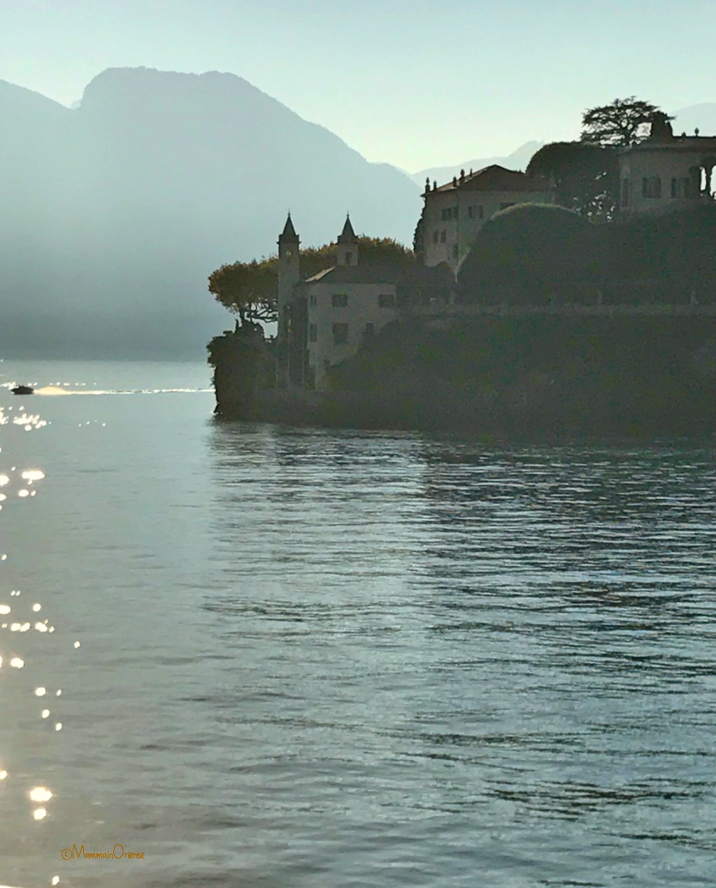 Lago di Como verso il Tramonto