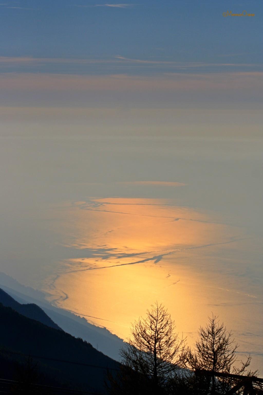 Verso il tramonto al Monte Baldo
