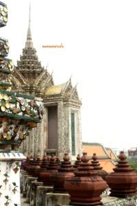 Dalla terrazza del Wat Arun