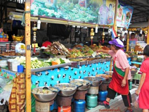 Food market a Pattaya