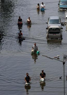 Le inondazioni in Thailandia