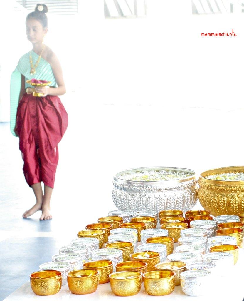 Il nostro Songkran a scuola