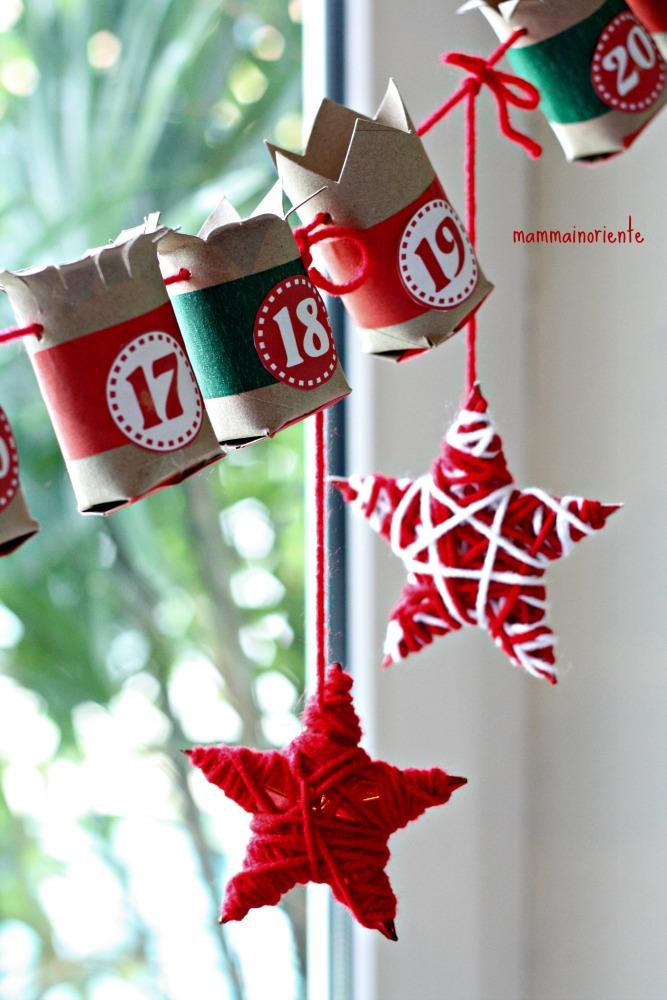 Calendario dell'Avvento e decorazioni natalizie…last minute