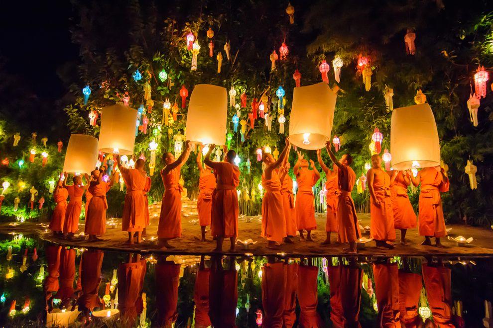 Tutto sulla festa thailandese del Loi Krathong