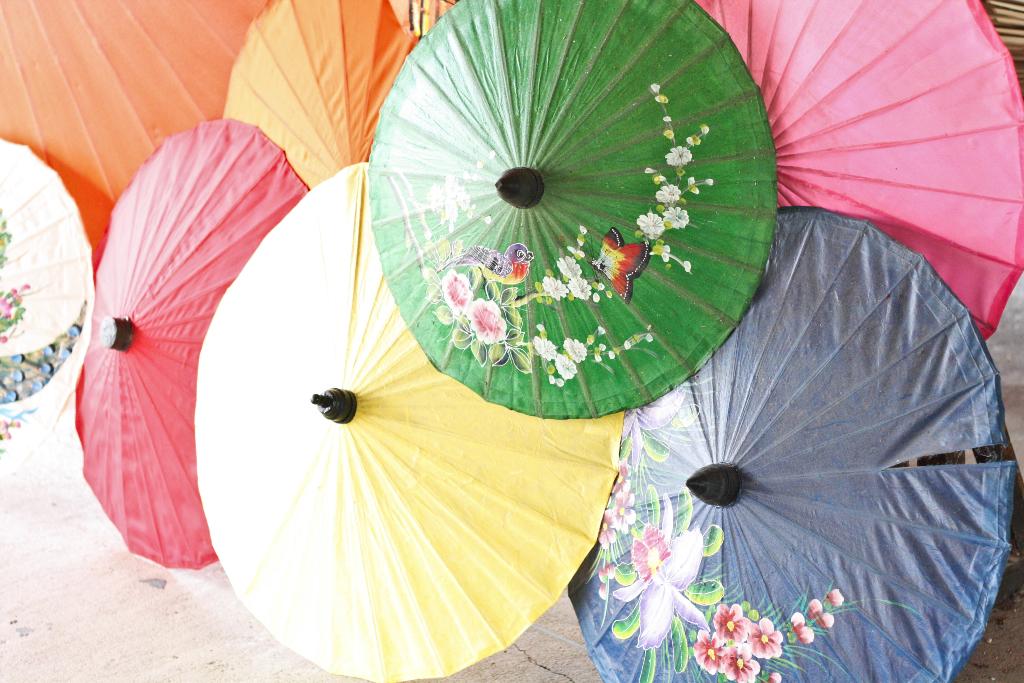 A Chiang Mai: il villaggio degli ombrelli Bor Sang