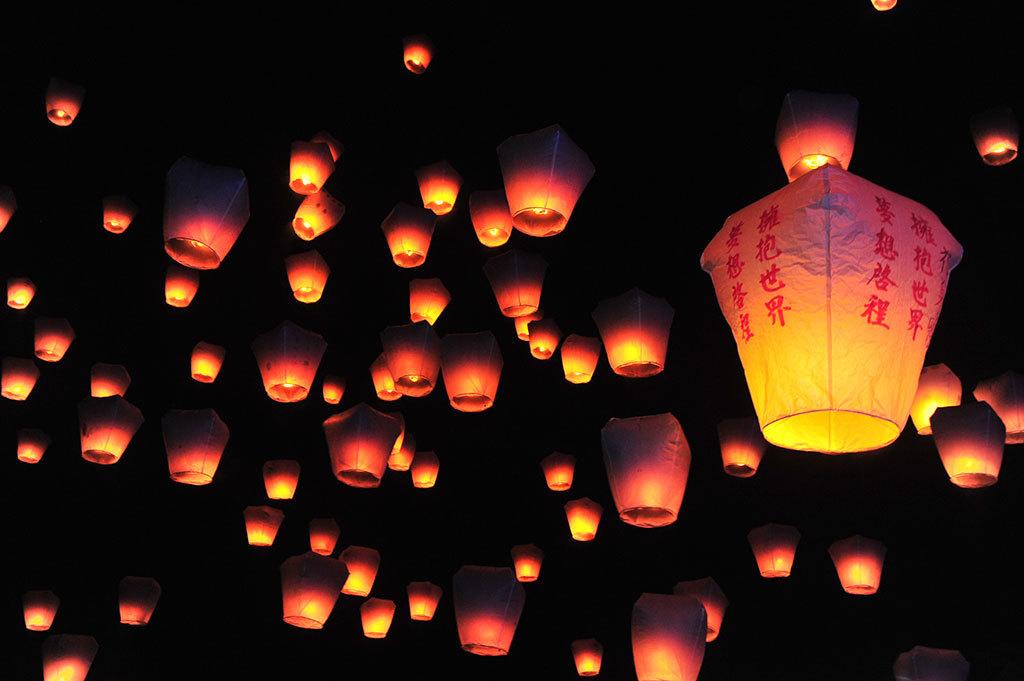 La festa delle lanterne in Cina