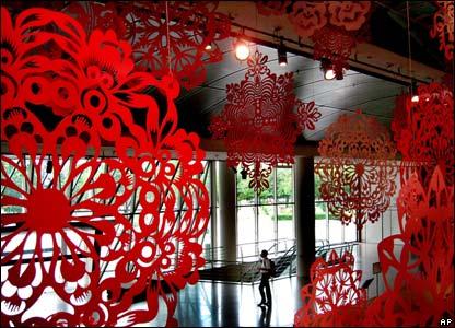 Origami durante il Capodanno cinese